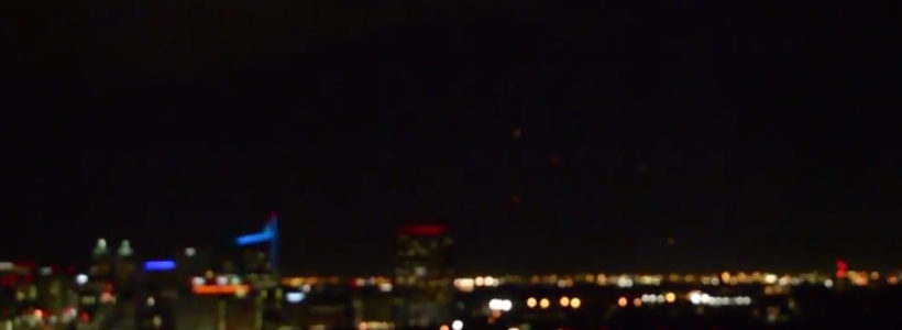 Multiple UFO Lights over Houston, Texas – 2017