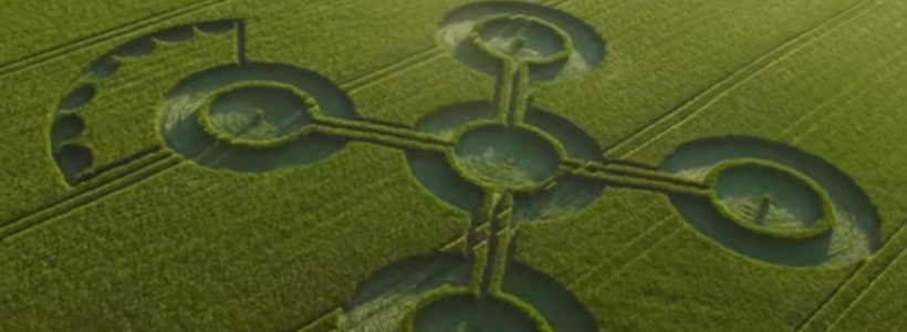 New Crop Circle Discovered in Wiltshire – 25th May 2017