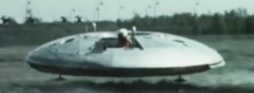 REAL flying saucers exposed in TOP SECRET footage from the Cold War