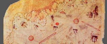 500 year old map of Antarctica shows it was once ICE-FREE