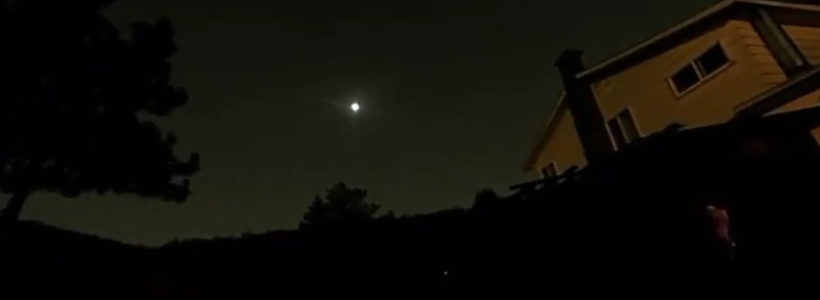 Bright UFO Sighted Over Texas – July 24 2017