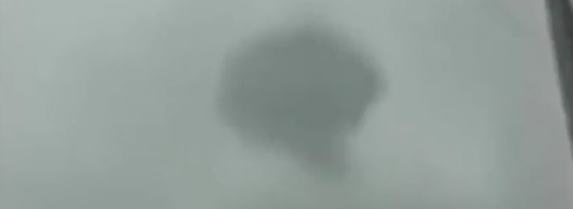 Dark Ring UFO Sighting Filmed In Central Mexico