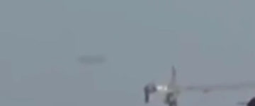 Disk Shaped UFO Filmed Over Krasnodar, Russia – 17th July 2017