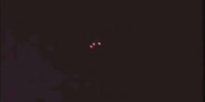 Triangle UFO Sighting Filmed Over Ansonia, Connecticut