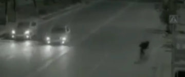 Little Girl Crossing Road Was Saved By A Ghost