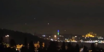 UFO sighting filmed in Istanbul, Turkey – Aug 20, 2017