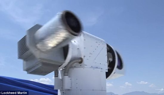 US Army reveals video of new laser weapon 'Athena'