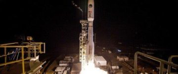 Rocket carrying a 'spy satellite' blasts off from California on a top-secret mission