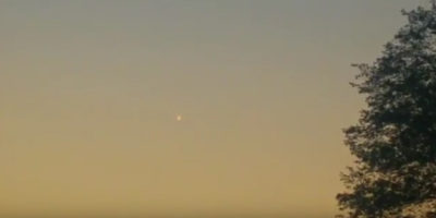 UFO sighting filmed in Eindhoven, Netherlands – 23rd Sep 2017
