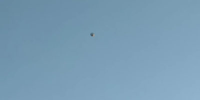 UFO sighting with helicopter in pursuit – 2017