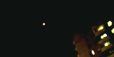 UFO sighting filmed in Kemerovo, Russia