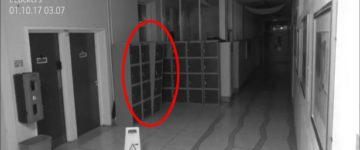 Poltergeist Activity Filmed By CCTV In School