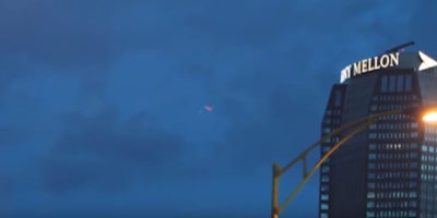 UFO sighting filmed in Pittsburgh, United States – 2017