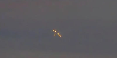 UFO sighting filmed in Odessa Ukraine – 2017