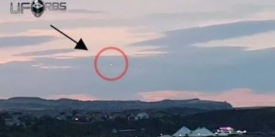 Daylight UFO Sighting in Scarborough, UK 2017
