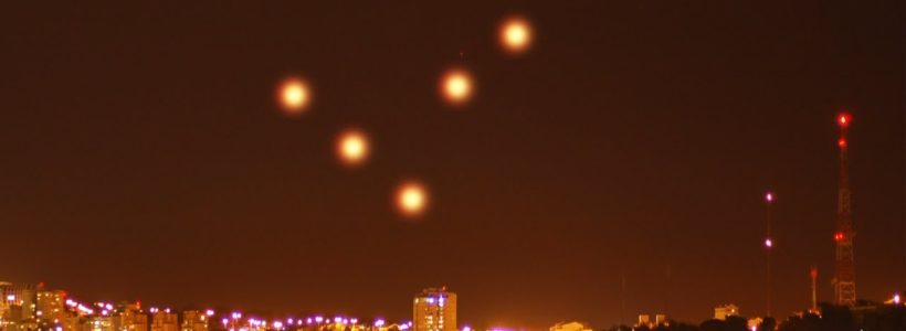 Multiple witnesses recorded UFOs over Haifa, Israel – 2017
