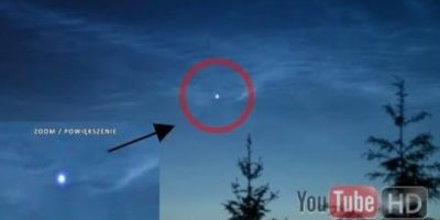 UFO sighting filmed in North Poland – 2016