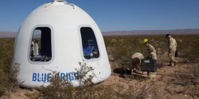 Blue Origin successfully test flies its capsule that could take tourists into orbit next year