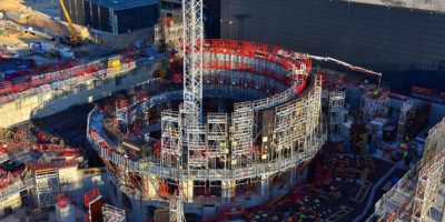 Nuclear fusion experiment that could lead to unlimited energy is now 50% complete