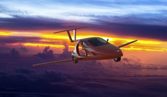 World's first FLYING sports car goes on sale next year for £90k