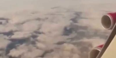 UFO Sighting Filmed From Plane Over Liverpool
