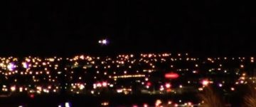 UFO sighting filmed in Las Vegas, Nevada – October 22nd 2017