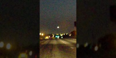 Unknown lights filmed over Laredo, Texas USA