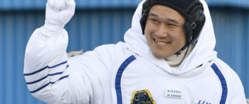 Japanese astronaut grows 9cms while in space