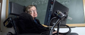 Has Stephen Hawking been replaced with a lookalike?