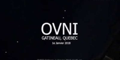 UFO activity filmed in Québec, Canada – 1st Jan 2018