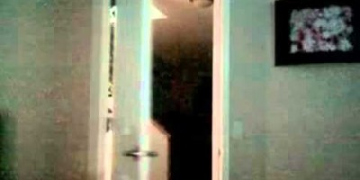 Creepy Ghost Sighting caught on Camera