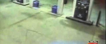 Ghost Sighting Filmed at a petrol Station