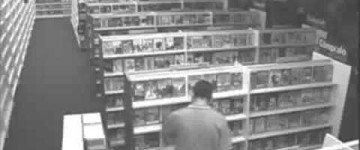 Ghost Sighting filmed in Blockbuster Video
