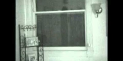 Real Alien in the Window