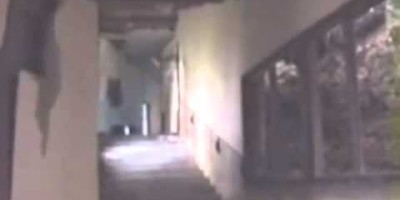 Creepy Apparition Caught on Tape
