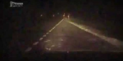 Ghost Activity on a dark road in Czech Republic – Christmas Eve 2011