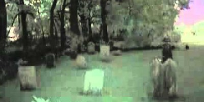 Ghost Walks around Abandoned Graveyard