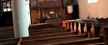 Ghost Caught on Tape in a Haunted Church
