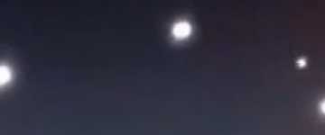 Large unknown lights filmed over Miami, Florida – 8th Jan 2013
