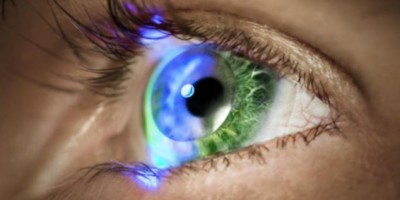 The contact lenses that could do away with TV screens