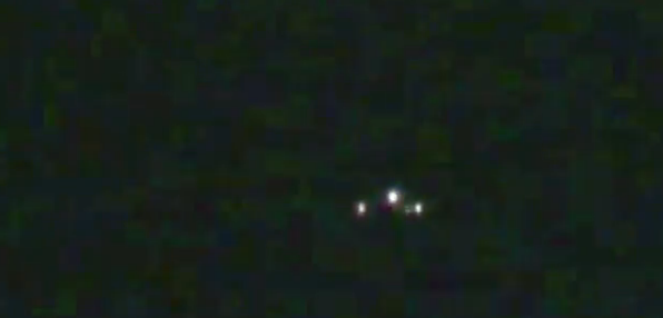 Triangle UFO sighting over Adelaide, Australia – 3rd August 2014