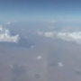 UFO filmed from Airline over Iran