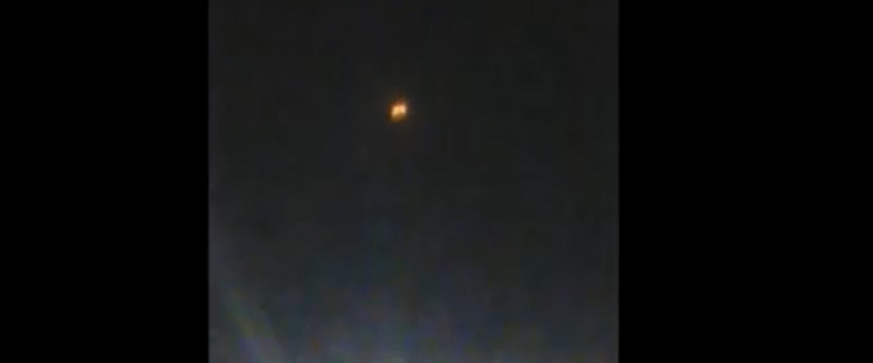 UFO Sighting filmed over Chile – 24th February 2015