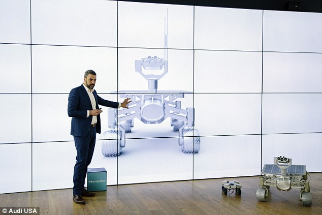 'We come from the Bauhaus tradition of functional forms and technical precision,' said Audi design engineer Jorge Diez (pictured)
