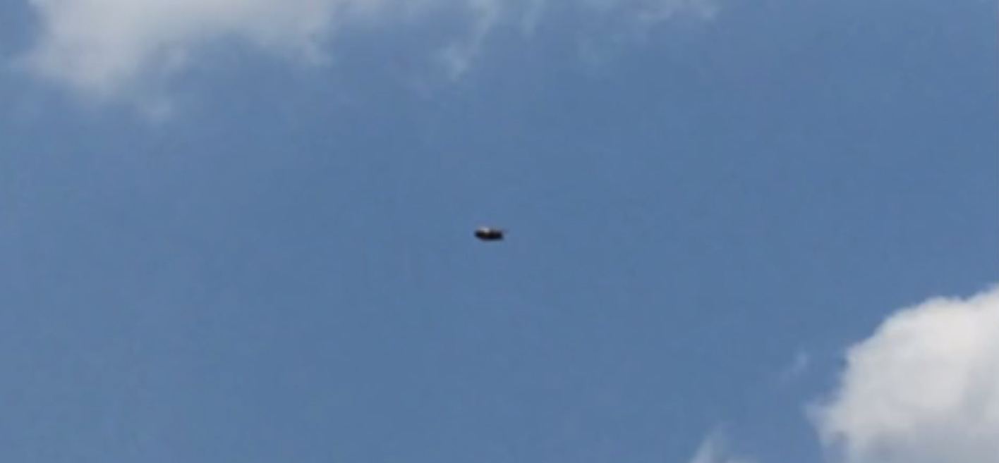 UFO sighting filmed over Teotihucan, Mexico – 4th May 2015