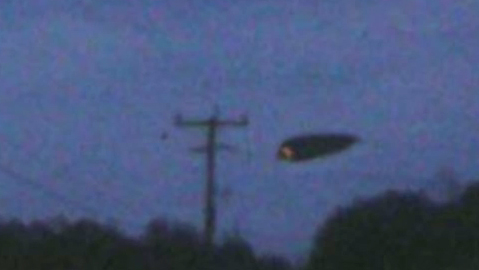 Possible TR-3B Sighting Filmed over Canada on 6th July 2015