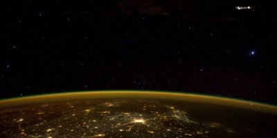 Mysterious object photographed from the International Space Station
