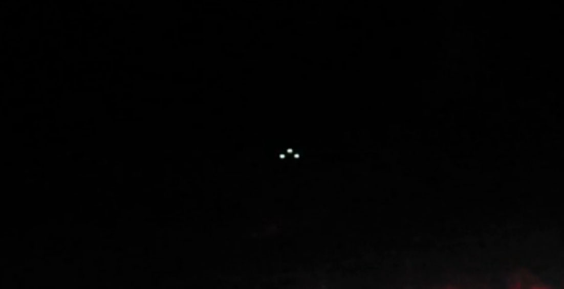 Triangle UFO sighting filmed over Charlottesville, Virginia – 24th July 2016
