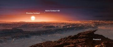 Second Earth discovered just four light years away