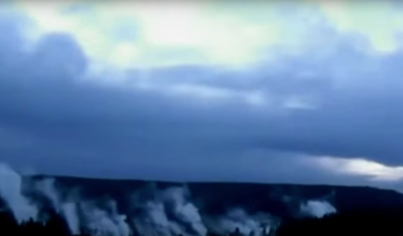 UFO footage filmed over Yellowstone National Park – 27th August 2016